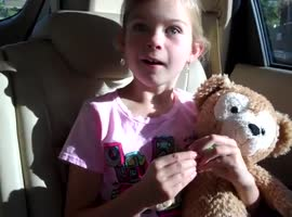 Little Girl's Cute Reaction to Disneyland Surprise... Again!
