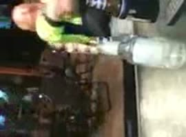 TWO DRUNKS PLAY WITH TASER - Video