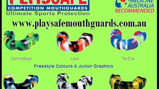 Mouthguards  Victoria -playsafemouthguards - Video