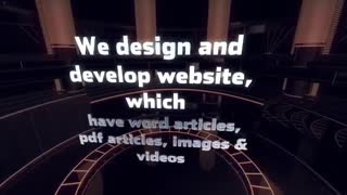 Web design dubai - Video