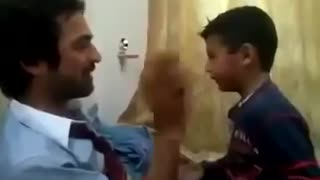 Father vs Son SLAPPING each otherr - Video
