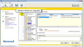 GroupWise to MBOX converter - Video