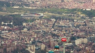 Stunning Day to Night Transformation of Skopje, Macedonia - Video