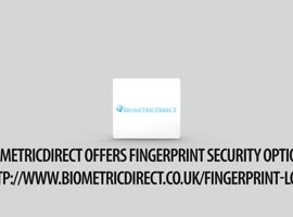 BioMetricDirect Offers Fingerprint Security Options