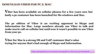 Download viber for PC - Video