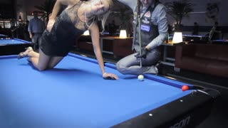 Unbelievable Pool Trick Shots In Germany - Video