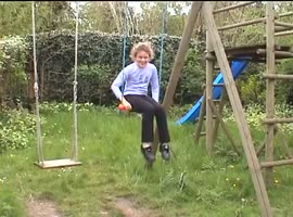 _-Girl on Swing Set Fail-_