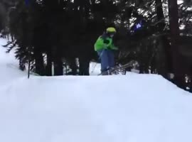 Skiing is a painful sport - Video