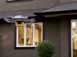 Drone Delivery System From Amazon - Video