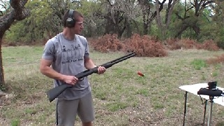 Ever See a Shotgun Loaded Like This? - Video