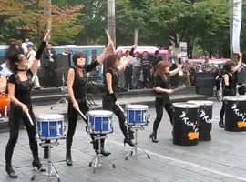 _Drumcat Street Performance_
