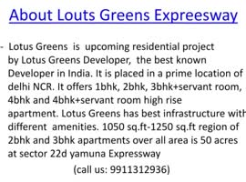 lotus greens noida - Video