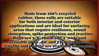 General Purpose Rubber Matting - Video