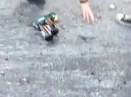 THAT'S WHY YOU SHOULDN'T SKATE WITH A CASE OF BEER - Video