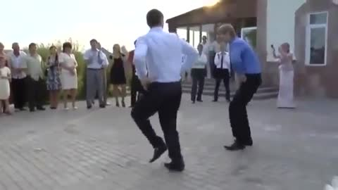 Crazy wedding in Russia