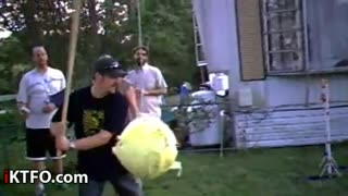 Pinata Fail Headshot - Video