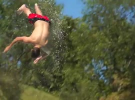 Epic Slip 'N Slide Pool Party! - Video