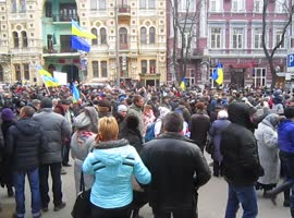 Revolution in Ukraine 01.12.2013 - Video