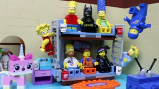 'The Simpsons' Famous Intro Gets LEGO Makeover - Video
