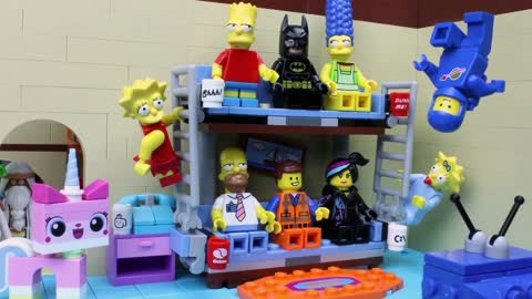 'The Simpsons' Famous Intro Gets LEGO Makeover