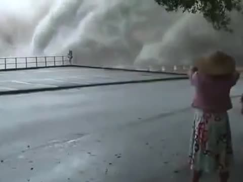 Amazing Footage After Tropical Storm Hits Taiwan
