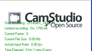 cam studio - Video