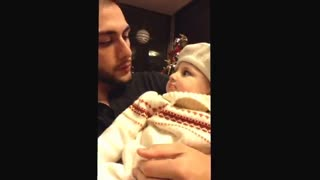 BeatBoxing 1 Year Old Niece