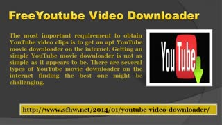 Free Youtube Yideo Downloader - Video