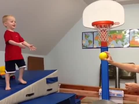 _Kid is Gonna Dunk It!_