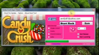Candy Crush Saga Hack - Video