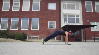 12 Crazy Extreme Push Up - Video