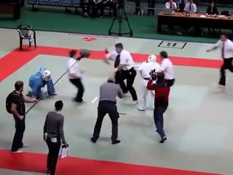 Karate Referee Becomes Winner