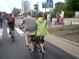 Awesome Two-Person Bicycle - Video