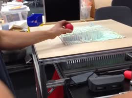 Interactive Morphing Table Surface Copies 3D Objects - Video