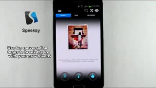 Speeksy Android App Demo Video - Video