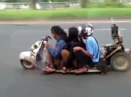 World's Lowest Scooter