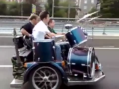 Inroducing The Drummobile