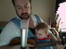 Dad Sings Baby to Sleep! - Video