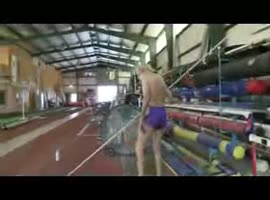 90-year-old athlete - Video