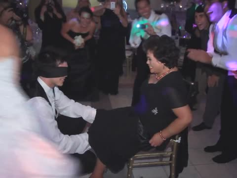 Groom Tricked into Removing Garter from His Mom