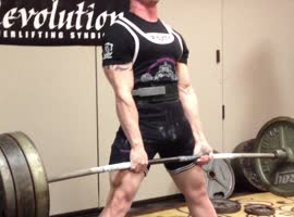 Darian Barnett 570 Deadlift PR - Video
