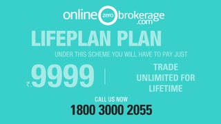 Lifetime Zero Brokerage Plan India | Online Zero Brokerage - Video