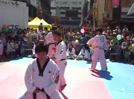 KARATE DEMONSTRATION FAIL - Video