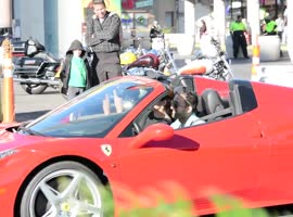 Ferrari Pick Up Prank - Video