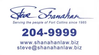 Personal Injury Attorneys in Fort Collins, Colorado - Shanahan Law Firm - Video