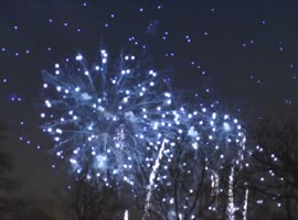 Offensive fireworks in Glasgow - Video