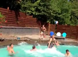 Crazy Pool Group Dunk