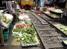 Market Right On The Railroad