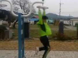 Getting Dizzy at The Playground - Video