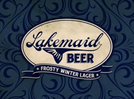 Lakemaid Beer Drone Delivery! - Video